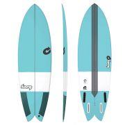 Surfboard TORQ Epoxy TEC Fish 5.6 blue